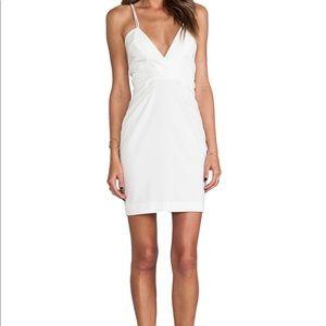 AQ/AQ Yarra Mini Dress, White, Flattering Style.